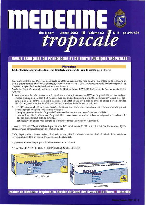 Medecine Tropicale 1