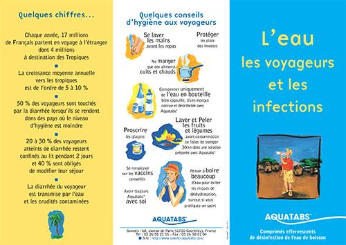 plaquette leau